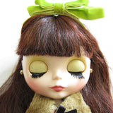 Blythe Red Delicious sleepy eyes with eyelashes