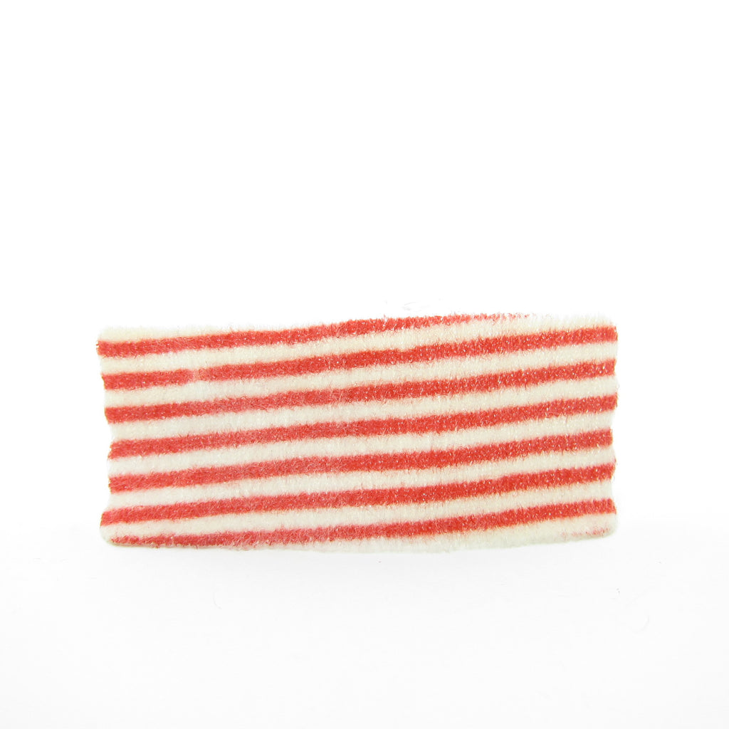 Red Striped Kitchen Towel for Strawberry Shortcake Berry Happy Home Dollhouse