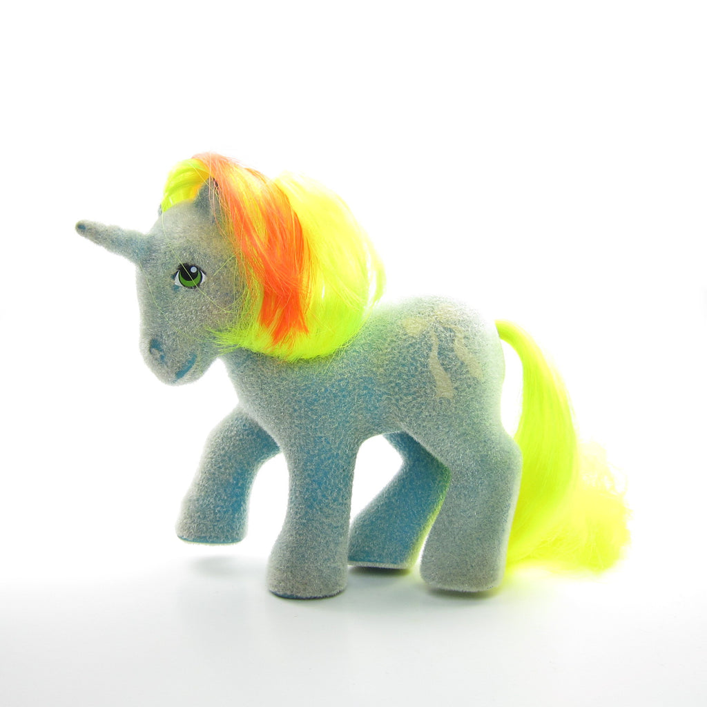 So Soft Ribbon My Little Pony Vintage G1 Unicorn