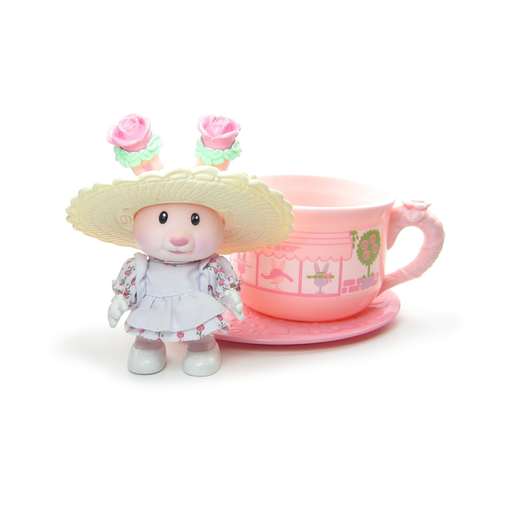 Rose Bonnet and the Just Ears Hat Shop Tea Bunnies toy