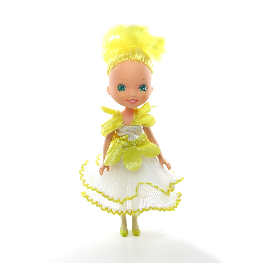 Bathing Beauty Yellow Swimsuit & Skirt Rose Petal Place Fashions for Dolls