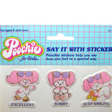 Poochie Say It With Stickers puffy sticker sheet