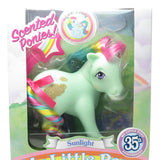 Sunlight My Little Pony 35th Anniversary scented ponies