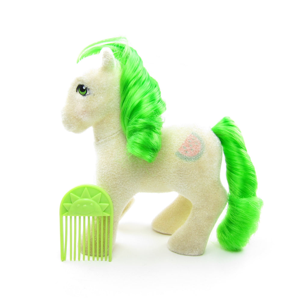 So Soft Scrumptious Vintage My Little Pony G1