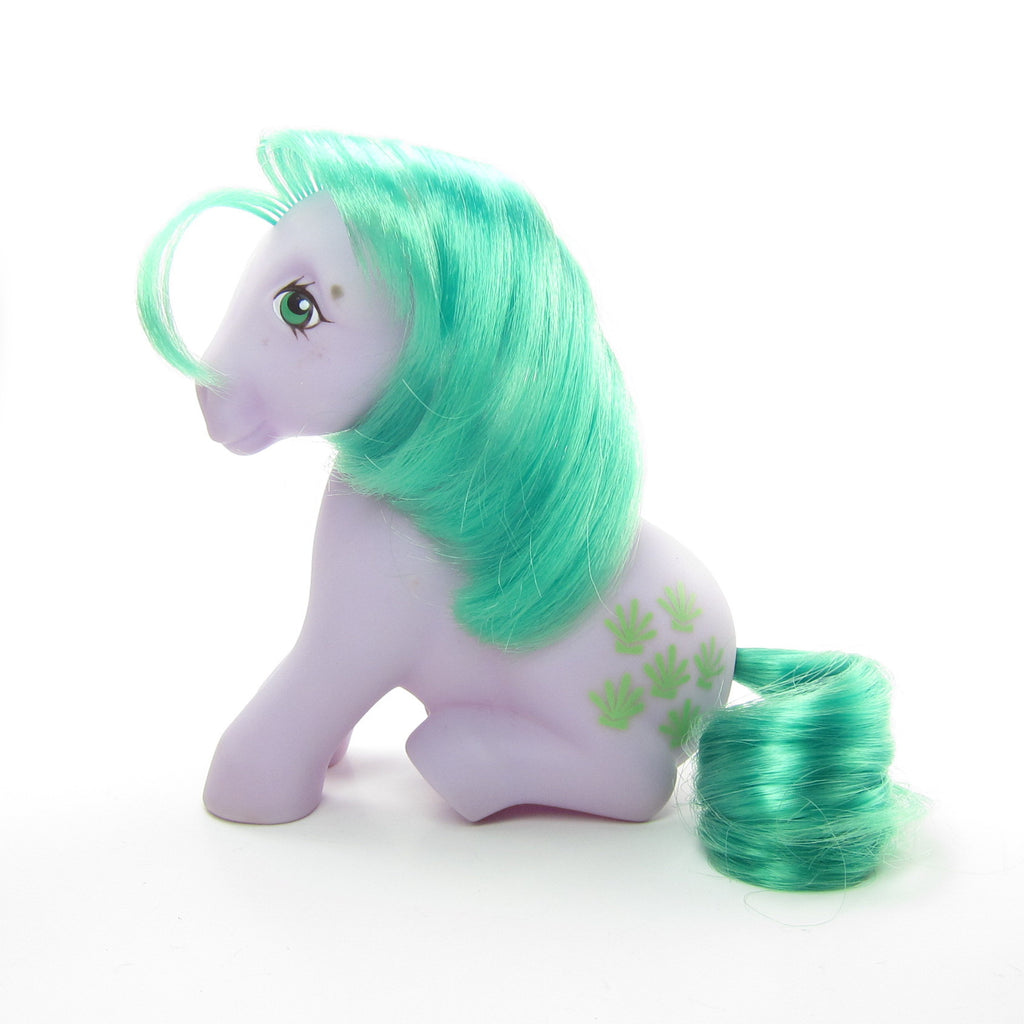 Seashell My Little Pony Vintage G1 Sitting Pose