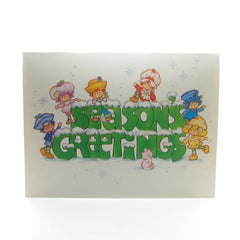 Season's Greetings Strawberry Shortcake holiday card