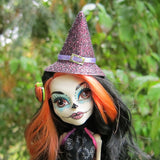 Monster High doll with witch hat
