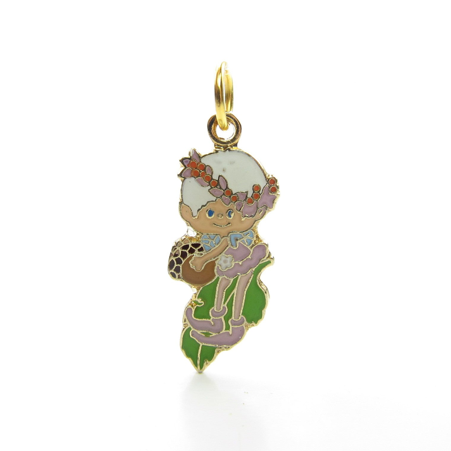 Snowdrop charm or pendant Herself the Elf jewelry