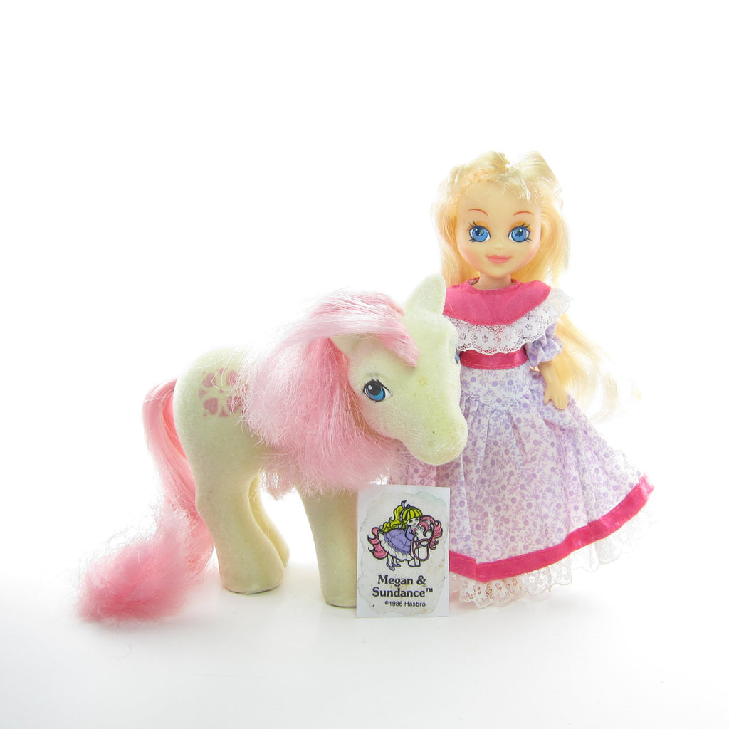 Megan & So Soft Sundance My Little Pony Vintage G1 Set