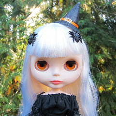 Spider barrettes for Blythe and Pullip dolls
