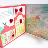 Story inside Strawberry Shortcake Storybook Play Case