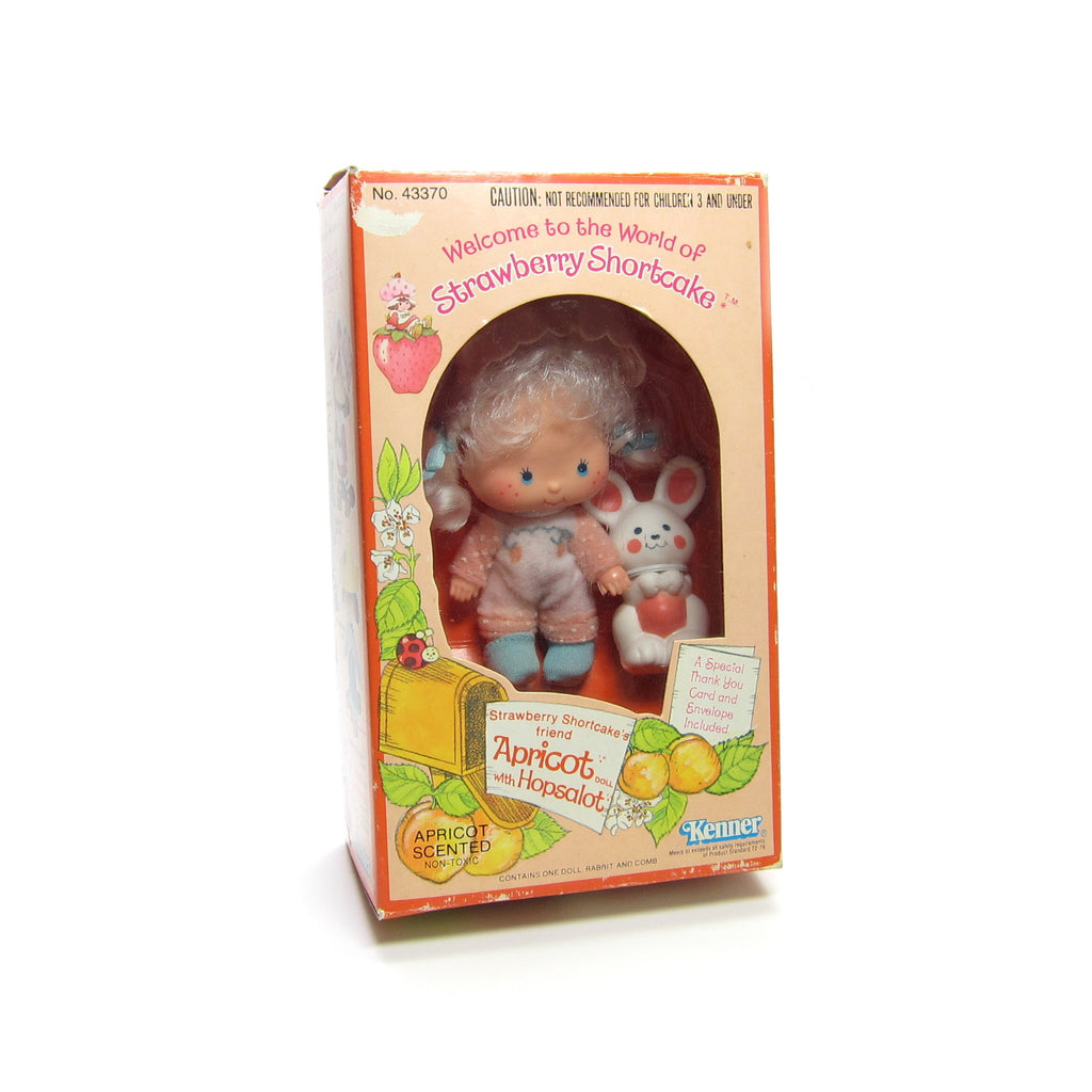 Mint in Box Apricot Strawberry Shortcake Doll with Hopsalot Pet
