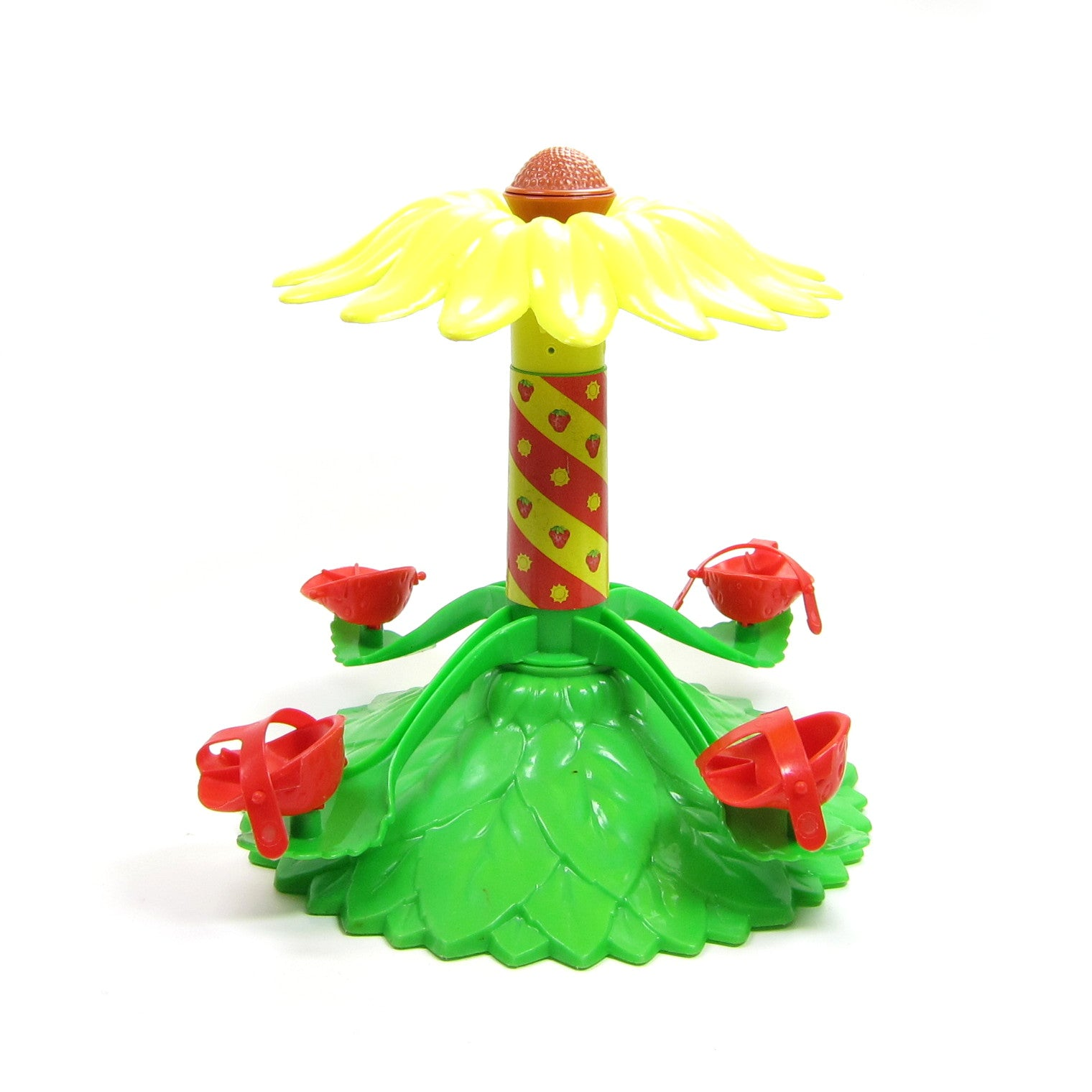 Strawberry Shortcake Carousel toy yellow flower