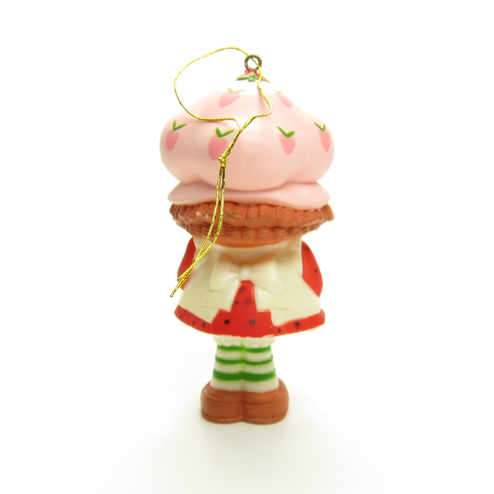 Strawberry christmas ornaments - Strawberry Shortcake Christmas Ornament With Present