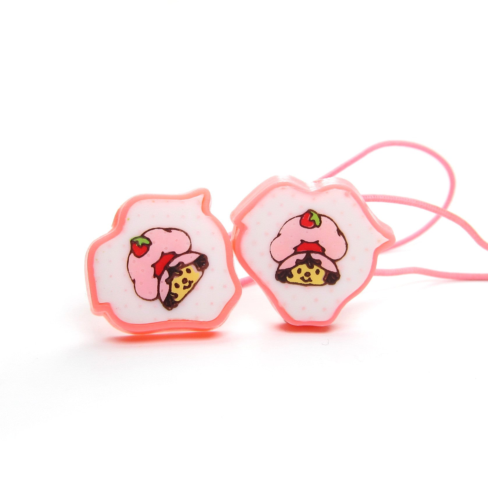 Strawberry Shortcake hair elastics