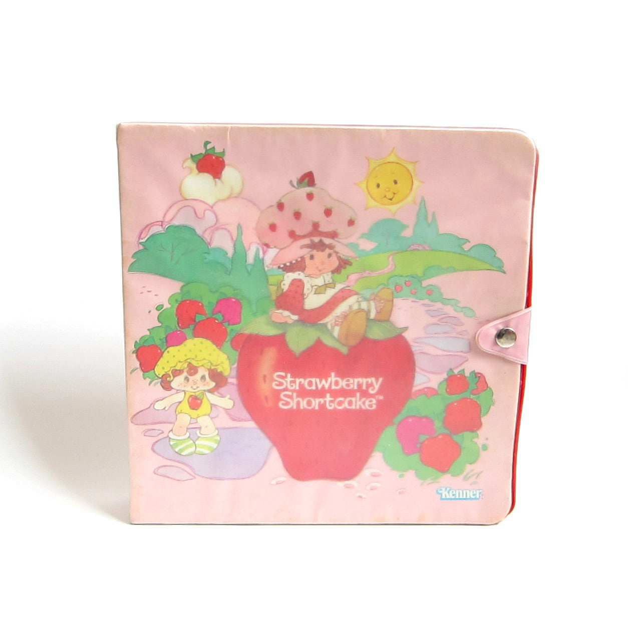 Strawberry Shortcake Storybook Play Case