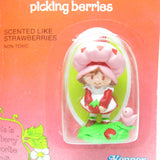 Strawberry Shortcake Picking Berries mint on card figurine