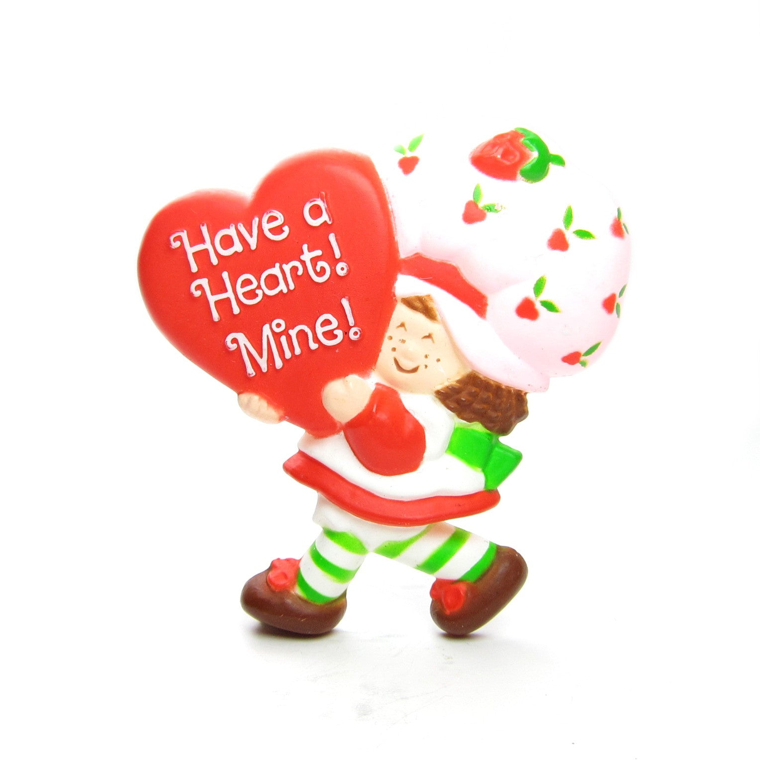 Strawberry Shortcake Valentine's Day Pin - Have a Heart! Mine!