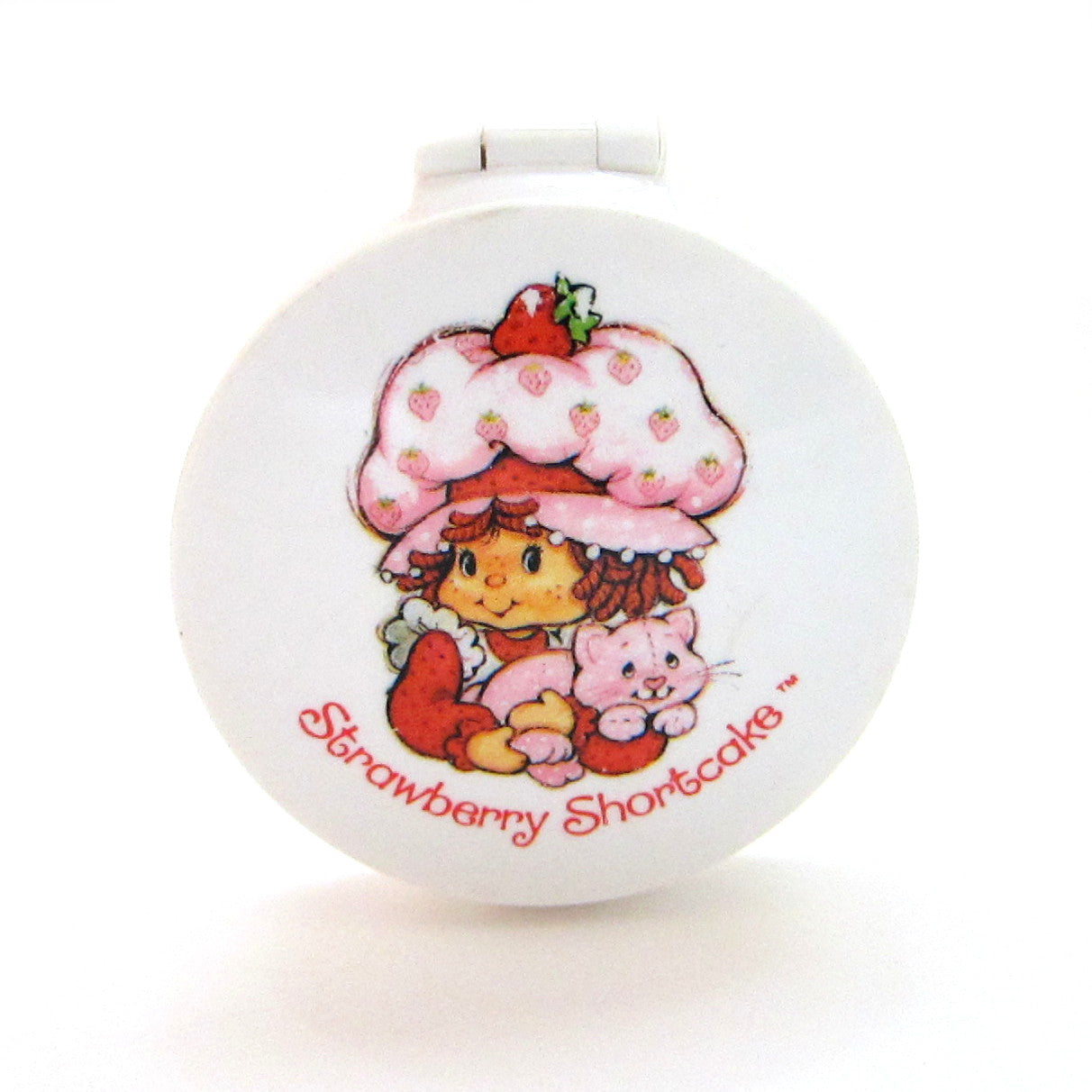 Strawberry Shortcake mirror compact from face cream