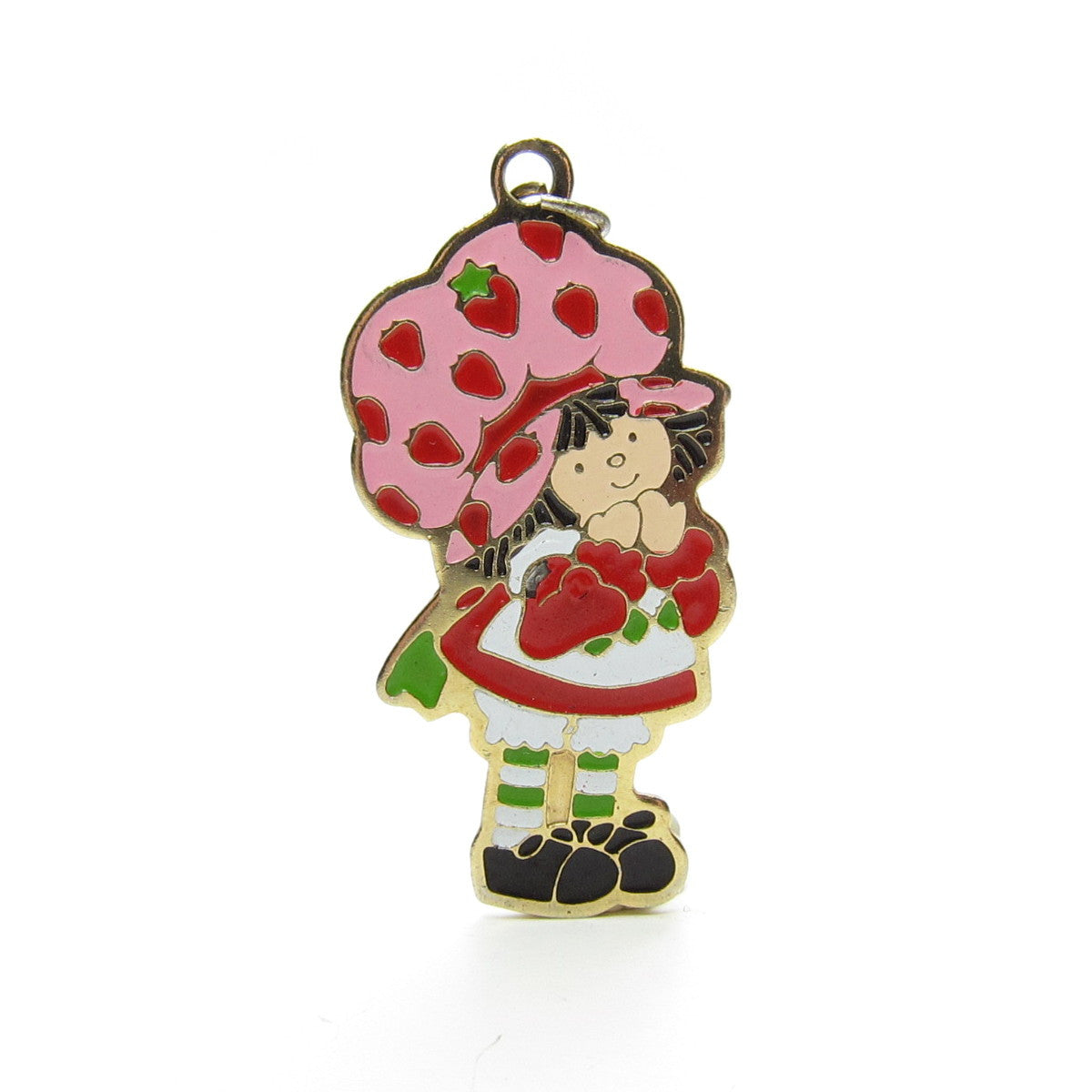 Strawberry Shortcake charm pendant