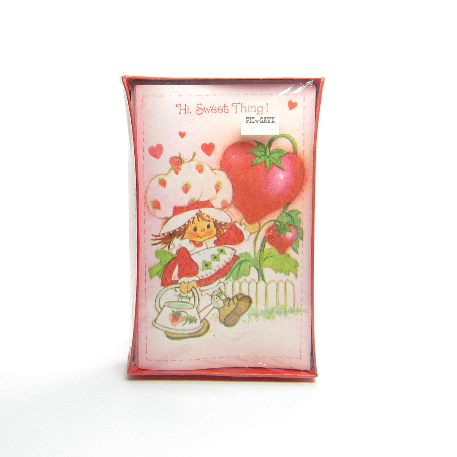 Strawberry Shortcake Valentine's Day cards MIB