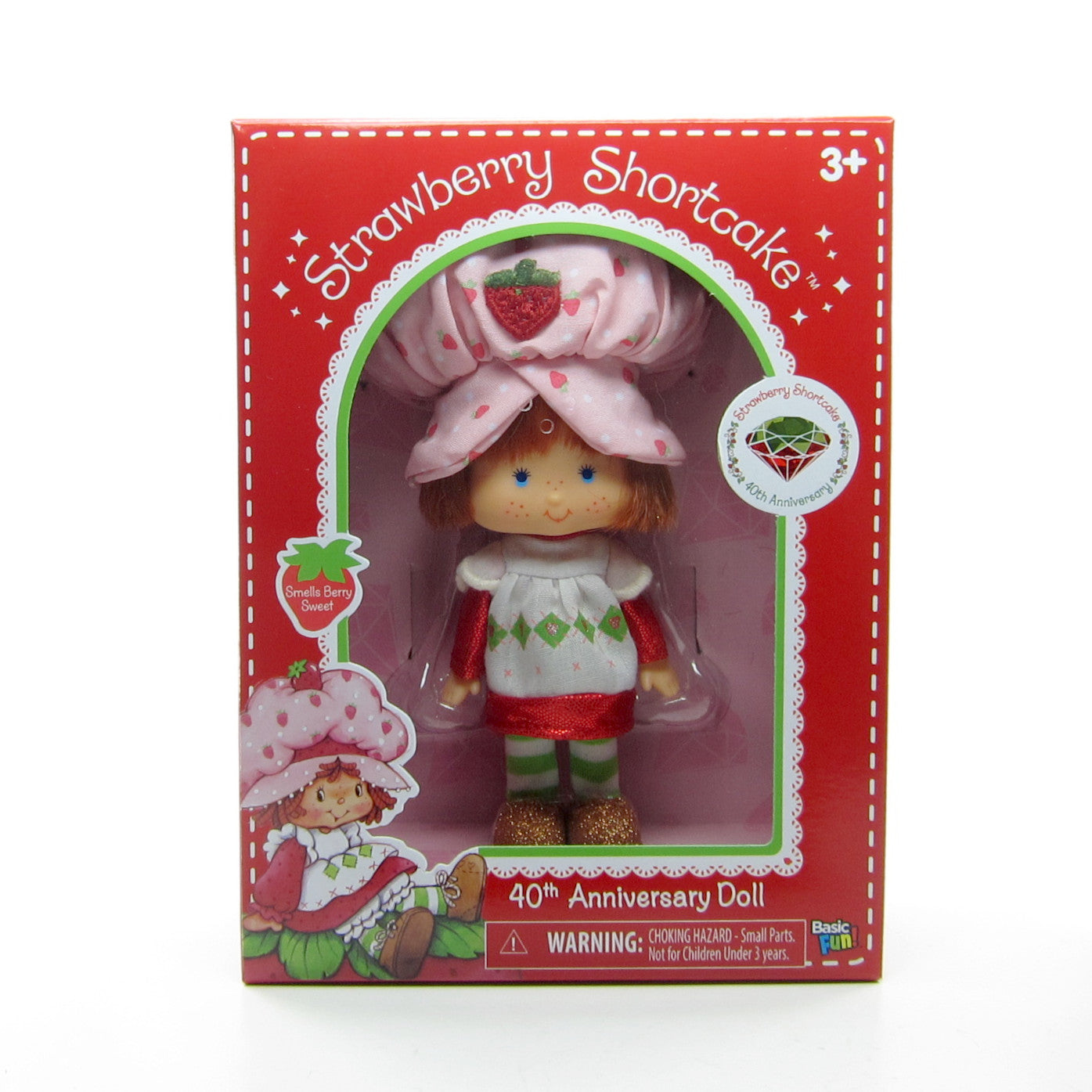 Strawberry Shortcake 40th Anniversary 2020 Edition Classic Doll Brown Eyed Rose