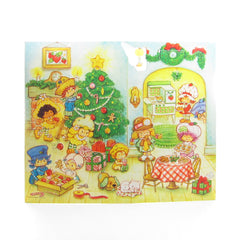 Strawberry Shortcake Advent Calendar Vintage Christmas 1982