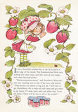 Vintage 1980 The Adventures of Strawberry Shortcake and Her Friends book
