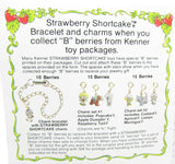 B Berries Strawberry Shortcake mail in charm bracelet offer