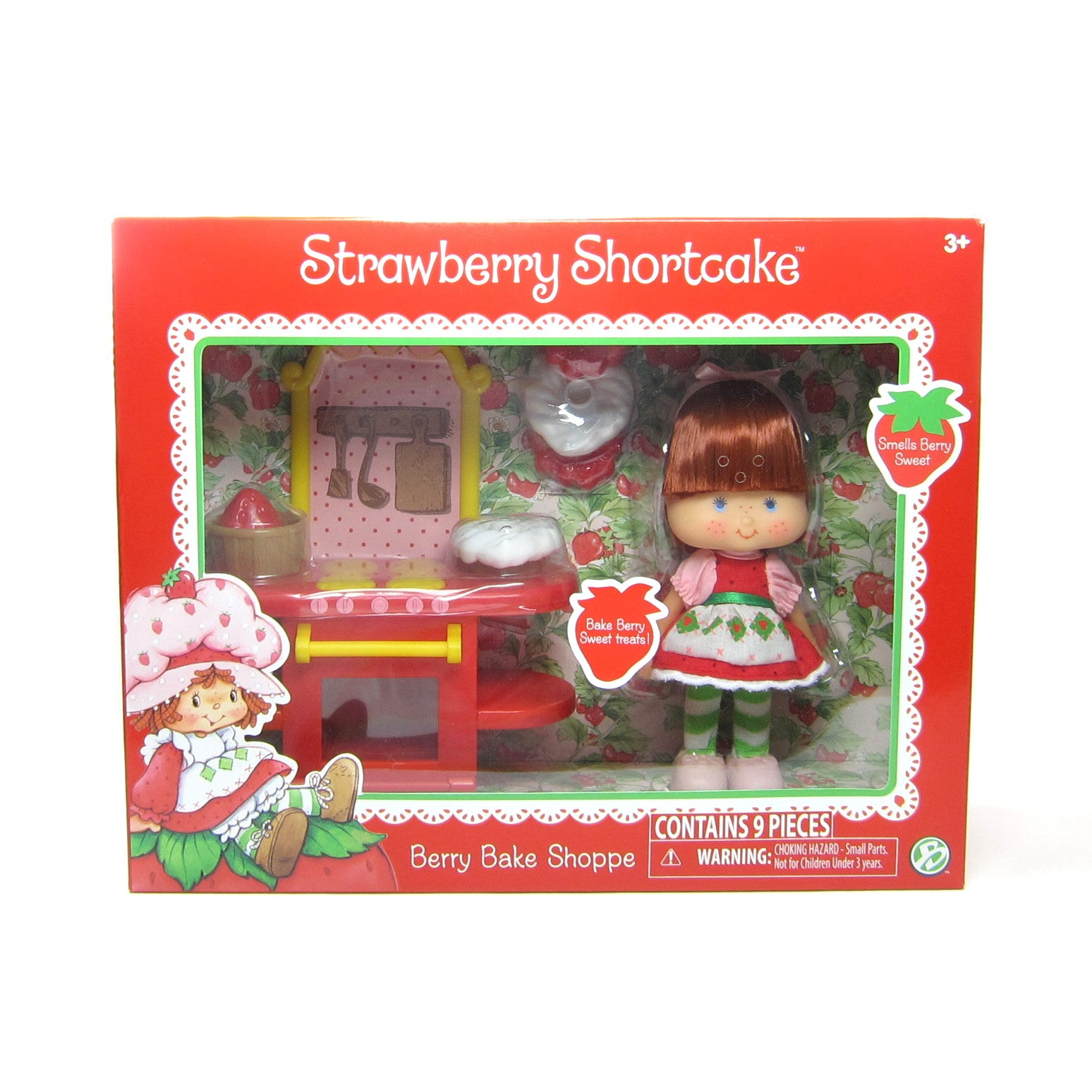 Berry Bake Shoppe Strawberry Shortcake classic reissue playset