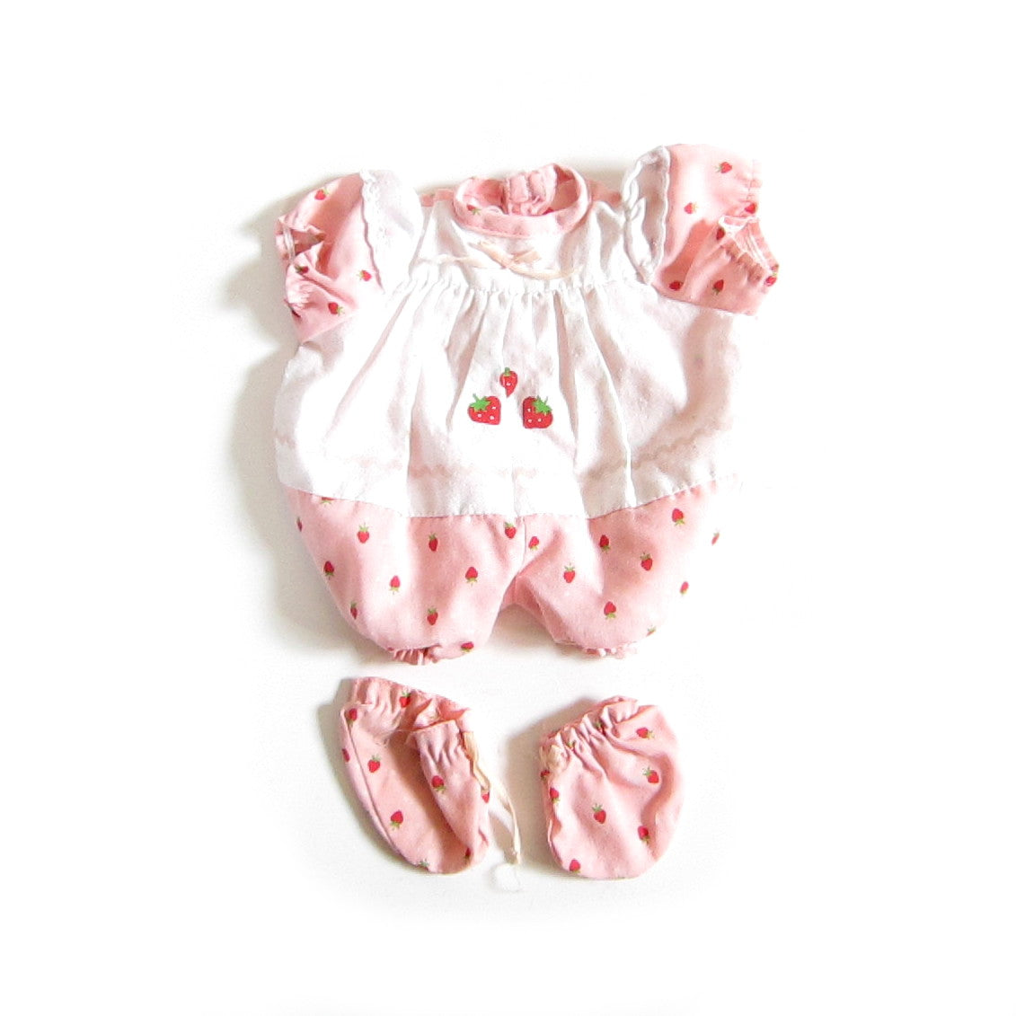 Strawberry Shortcake Baby Blow Kiss outfit and booties