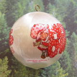 Strawberry Shortcake Merry Christmas tree decoration