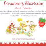 Strawberry Shortcake, Lime Chiffon and Lemon Meringue Classic Reissue doll set