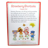 Strawberry Shortcake classic doll back of box