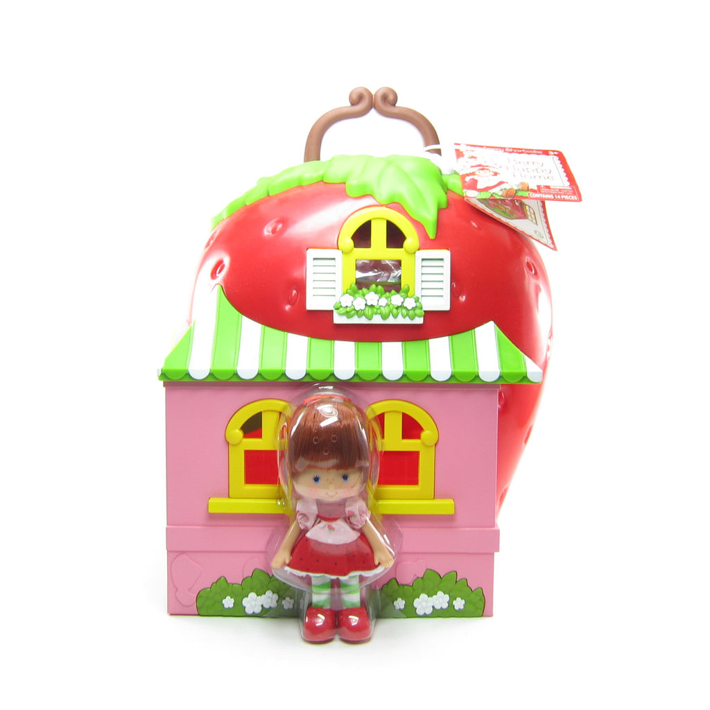 Berry Happy Home Strawberry Shortcake Reissue Classic Doll & Playset