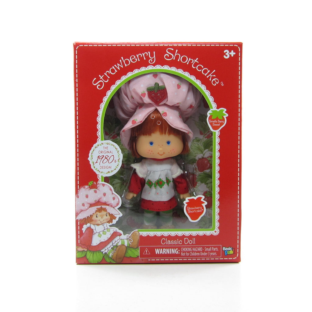 Strawberry Shortcake Reissue 1980s Classic Design Doll