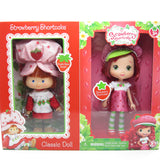 Strawberry Shortcake classic reissue and modern doll set