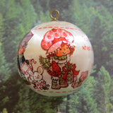 Strawberry Shortcake and Hopsalot Christmas ornament