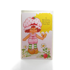 Easter Strawberry Shortcake Paper Doll Card