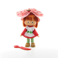 First Issue Strawberry Shortcake Flat Hands doll with comb