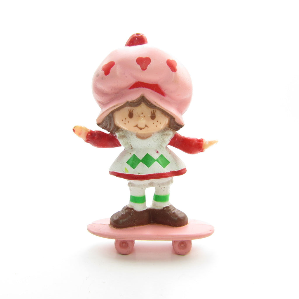 Strawberry Shortcake on Her Skateboard Miniature Figurine