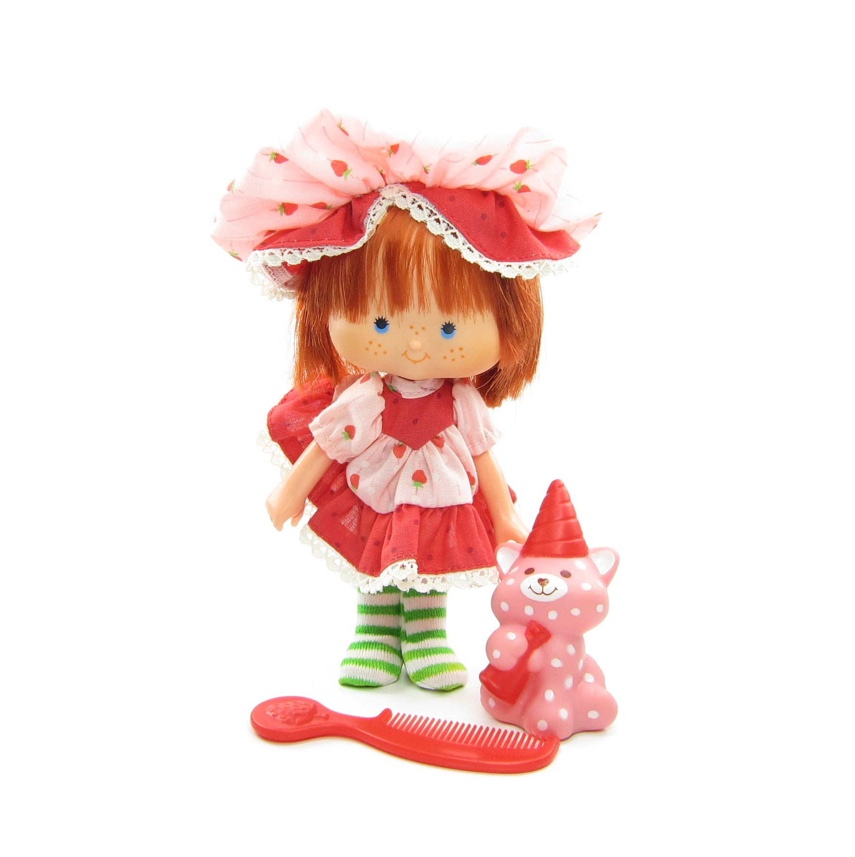 Strawberry Shortcake Party Pleaser doll with Custard pet