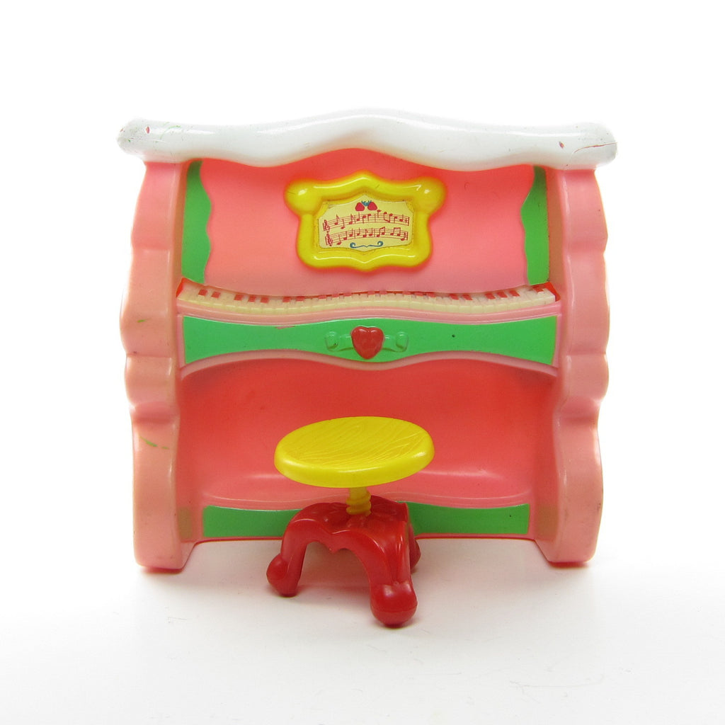 Piano and Stool for Strawberry Shortcake Berry Happy Home Dollhouse