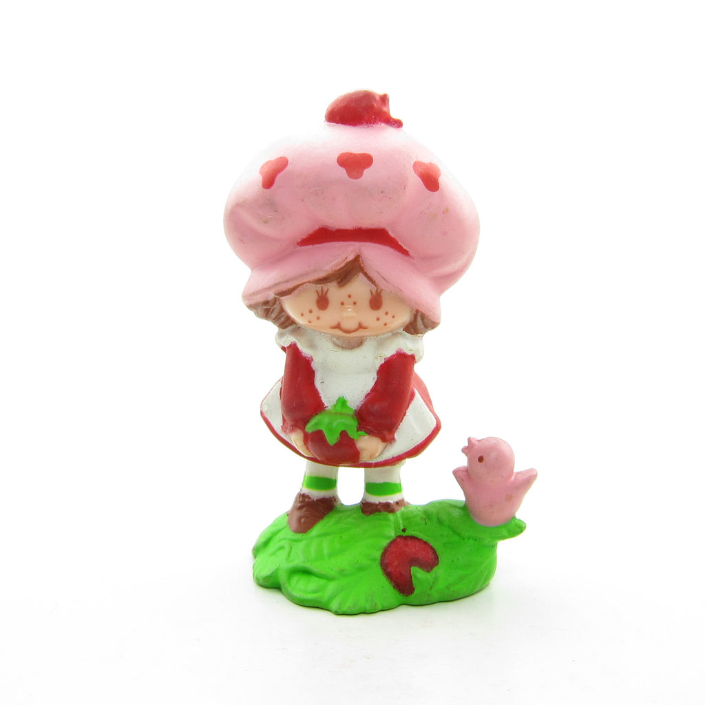 Strawberry Shortcake Picking Berries Miniature Figurine