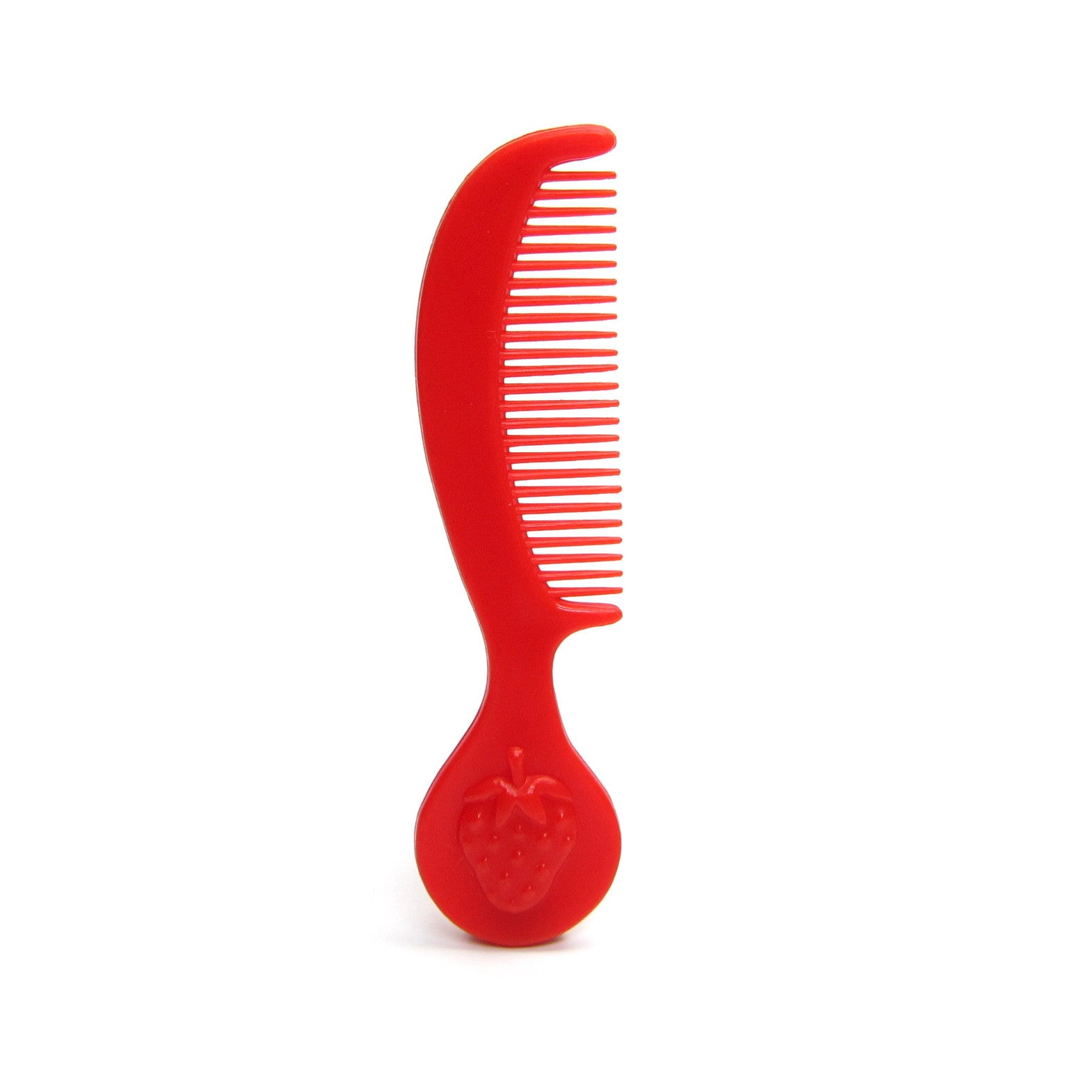 Strawberry Shortcake red berry hair comb
