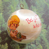 Baby's First Christmas is full of happy surprises 1983 ornament