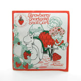 Strawberry Shortcake Snail Cart instruction booklet