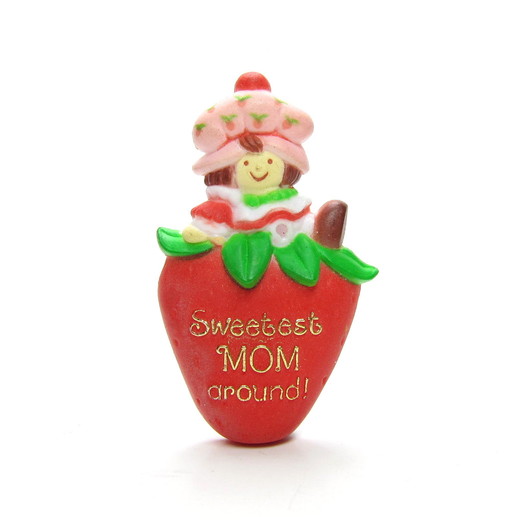 Sweetest Mom Around Strawberry Shortcake Pin