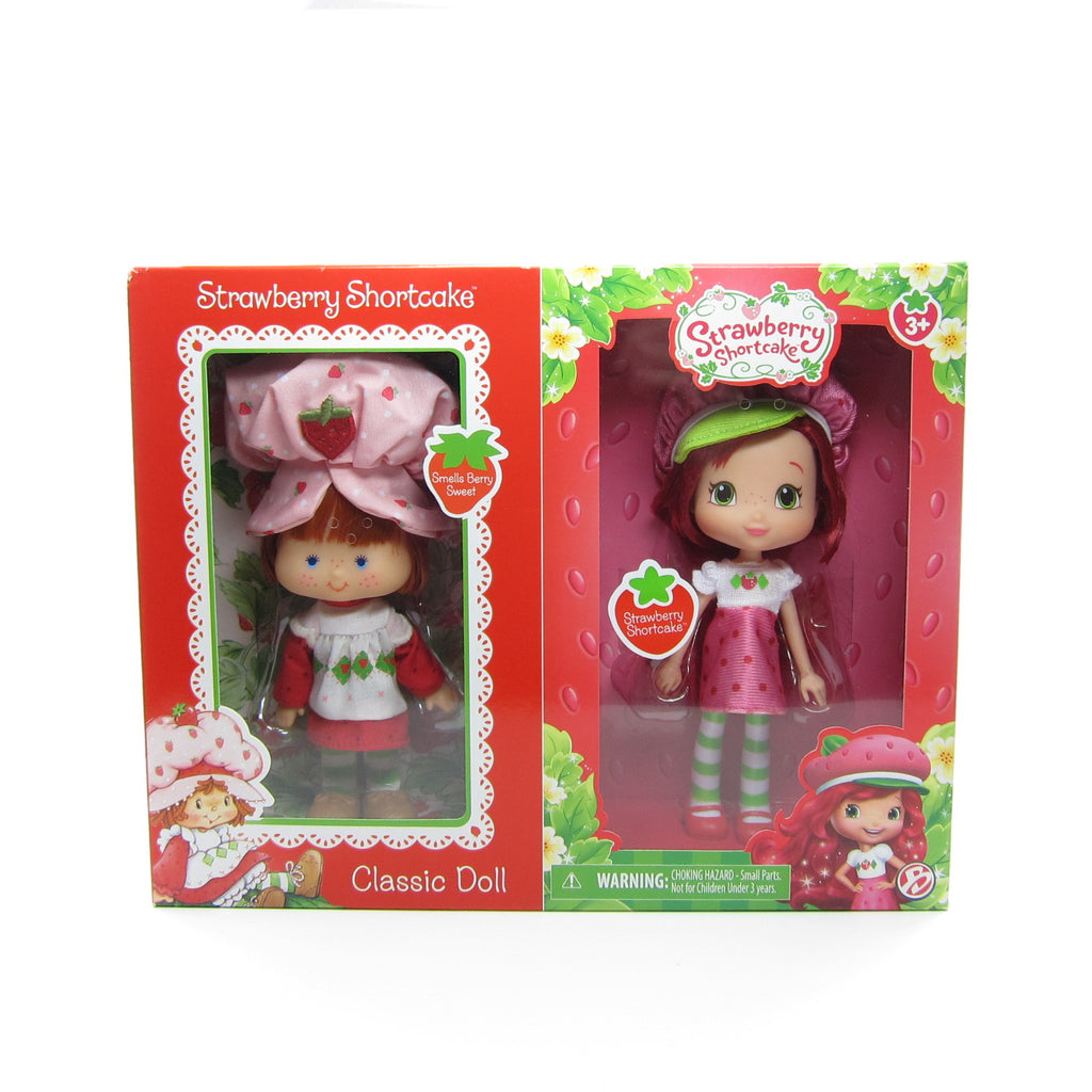Strawberry Shortcake Then & Now Reissue Classic Doll Set