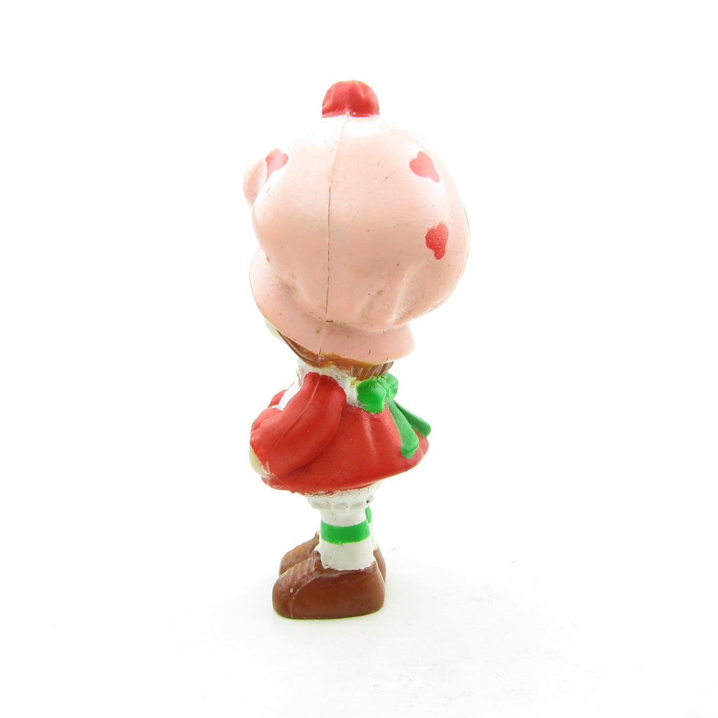 Strawberry Shortcake with Three Berries Miniature Figurine